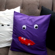 Easy Halloween Monster Pillow