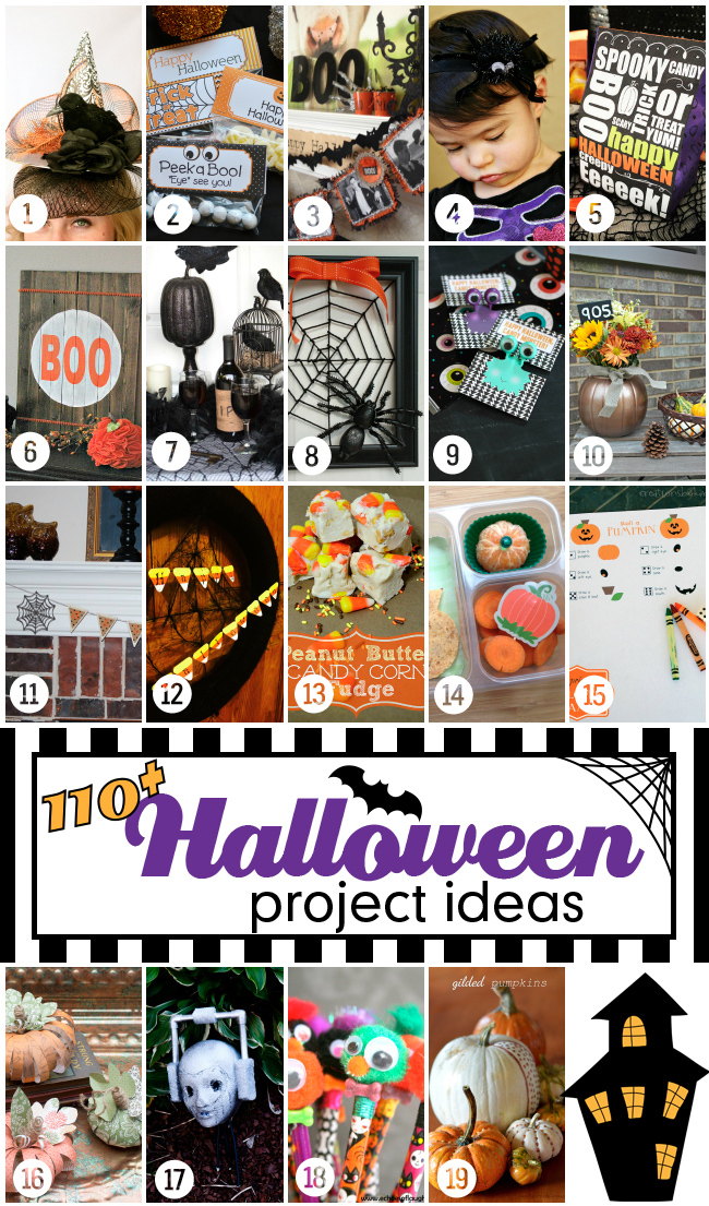 110 Halloween Ideas - www.seevanessacraft.com