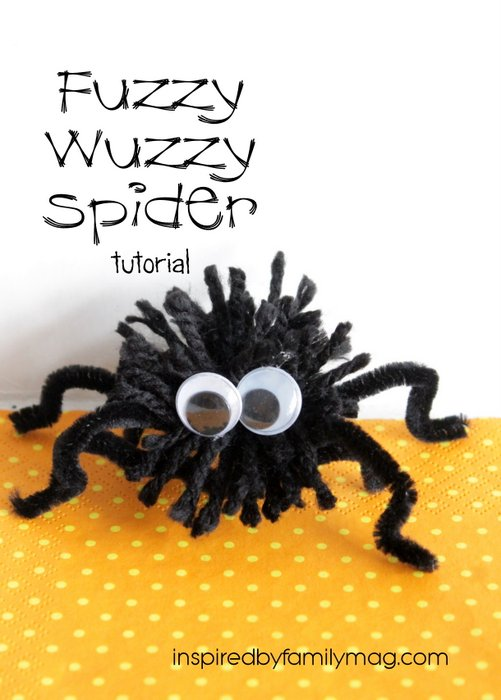 Pom Pom Spider Craft / www.seevanessacraft.com