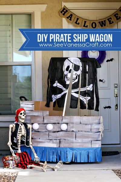 Step2 Pirate Ship Wagon