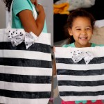(30 crafty days of halloween) glitter trick or treat tote bag