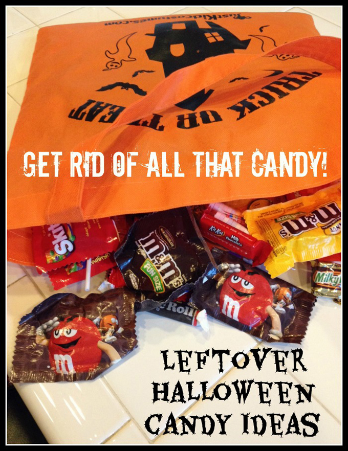 Leftover Halloween Candy Ideas / www.seevanessacraft.com