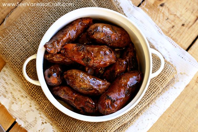 recipe) brown sugar glazed sweet potato fingerlings