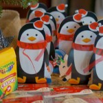 (edible craft) penguin snack mix