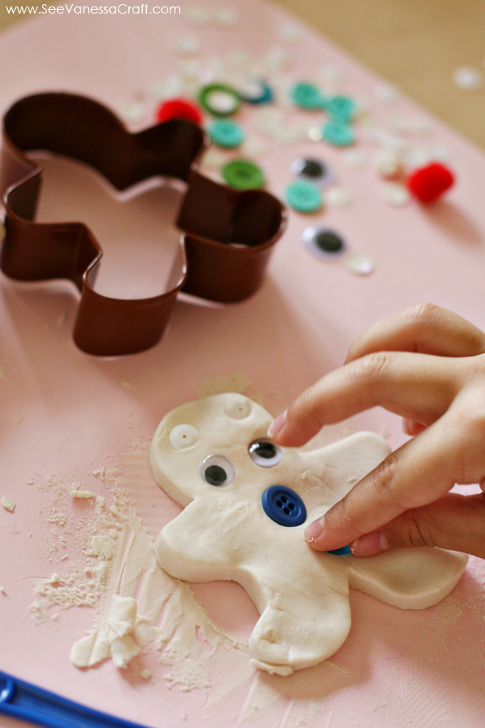 Craft Gingerbread Play Dough Kit See Vanessa Craft