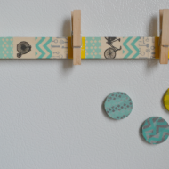 (craft) 3 easy washi tape magnet ideas