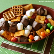 Craft| Game Day Snack Mix