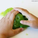 Craft: Hulk Glitter Slime