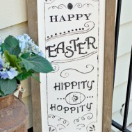 DIY: Pottery Barn Inspired Easter Sign