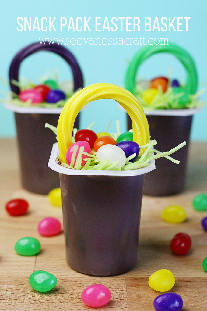 Snack Pack Edible Easter Basket