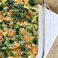 Recipe: Sweet Potato, Egg & Kale Casserole