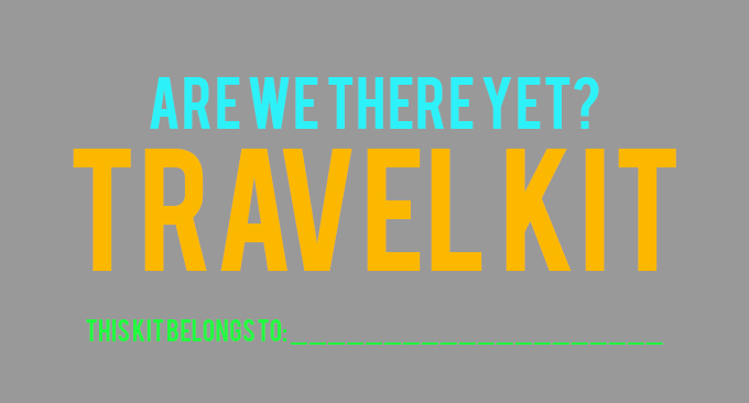 Travel Kit Sign WEB