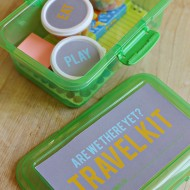 Travel Kit for Kids with Printables
