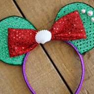 Craft: Disney Little Mermaid Ears