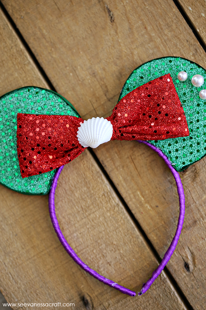 Little Mermaid Disney Ears