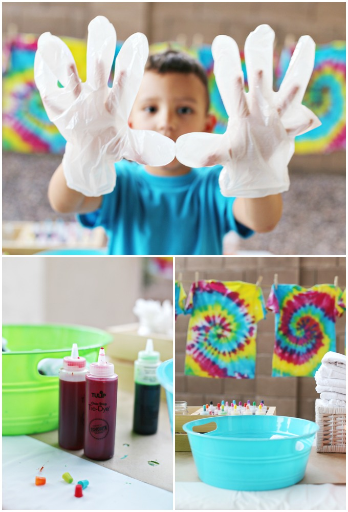 5 Tie Dye Party Tips for Kids