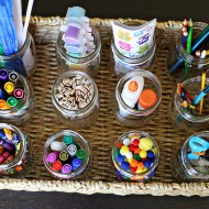 Kid Friendly: Art Station for Kids