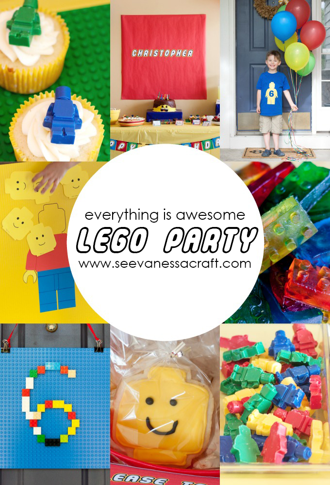 Party: Lego 6th Birthday - See Vanessa Craft