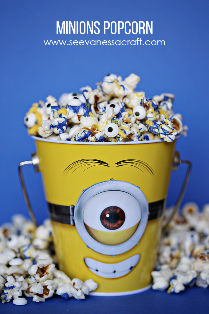 Diy kitchen ideas pinterest - Recipe Minions Chocolate Popcorn See Vanessa Craft