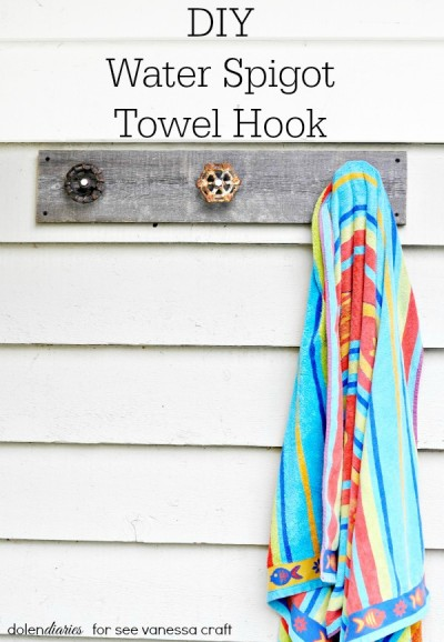DIY Water Spigot Handle Hook