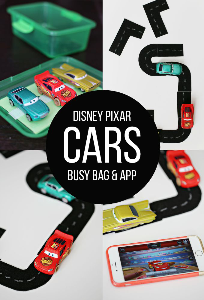 Disney Pixar Cars Busy Bag and App