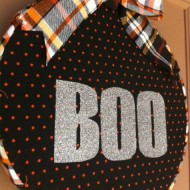 Halloween: Front Door Hoop Art