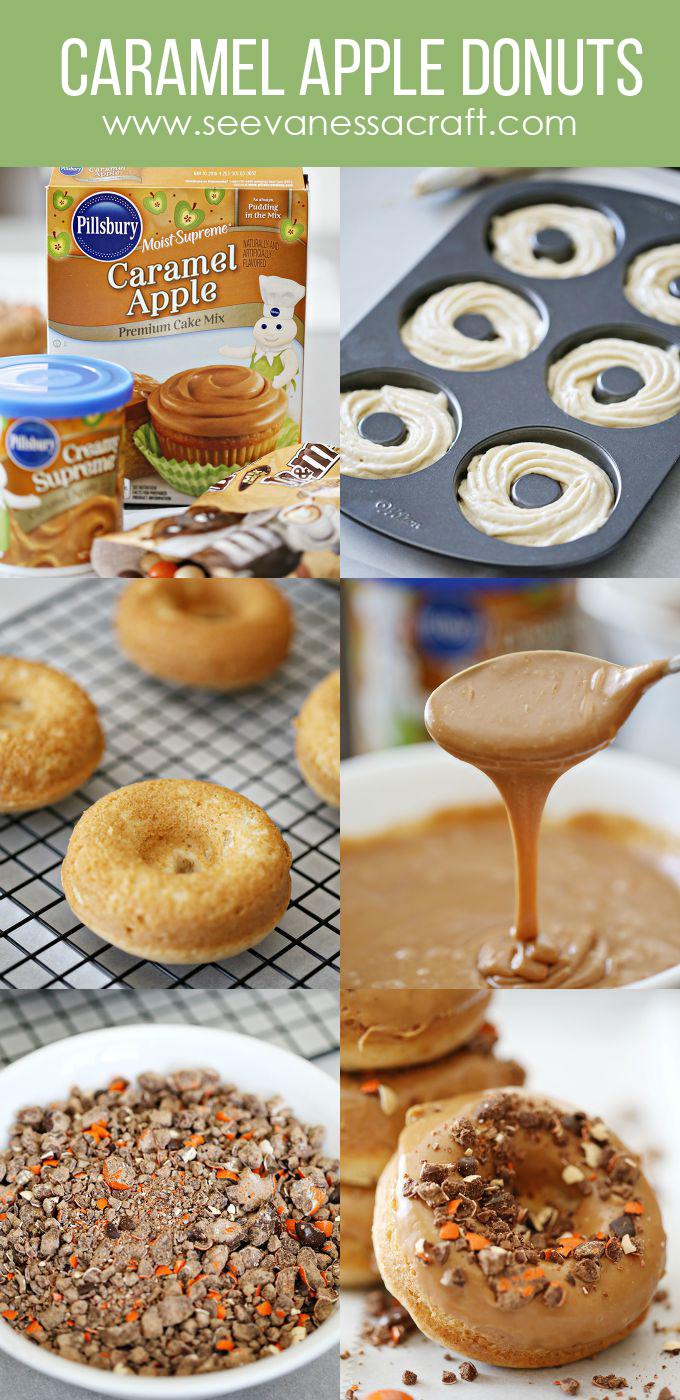 Recipe Caramel Apple Cake Mix Donuts See Vanessa Craft