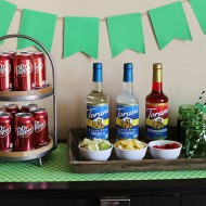 Party: Dr Pepper Game Day Drink Station