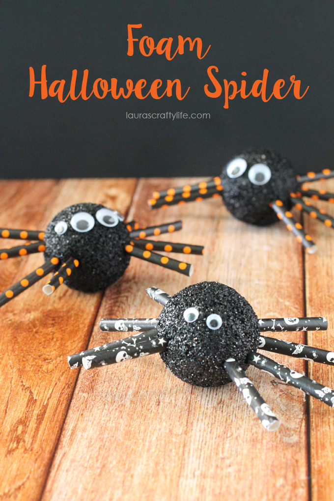 Foam-Halloween-Spider-Lauras-Crafty-Life