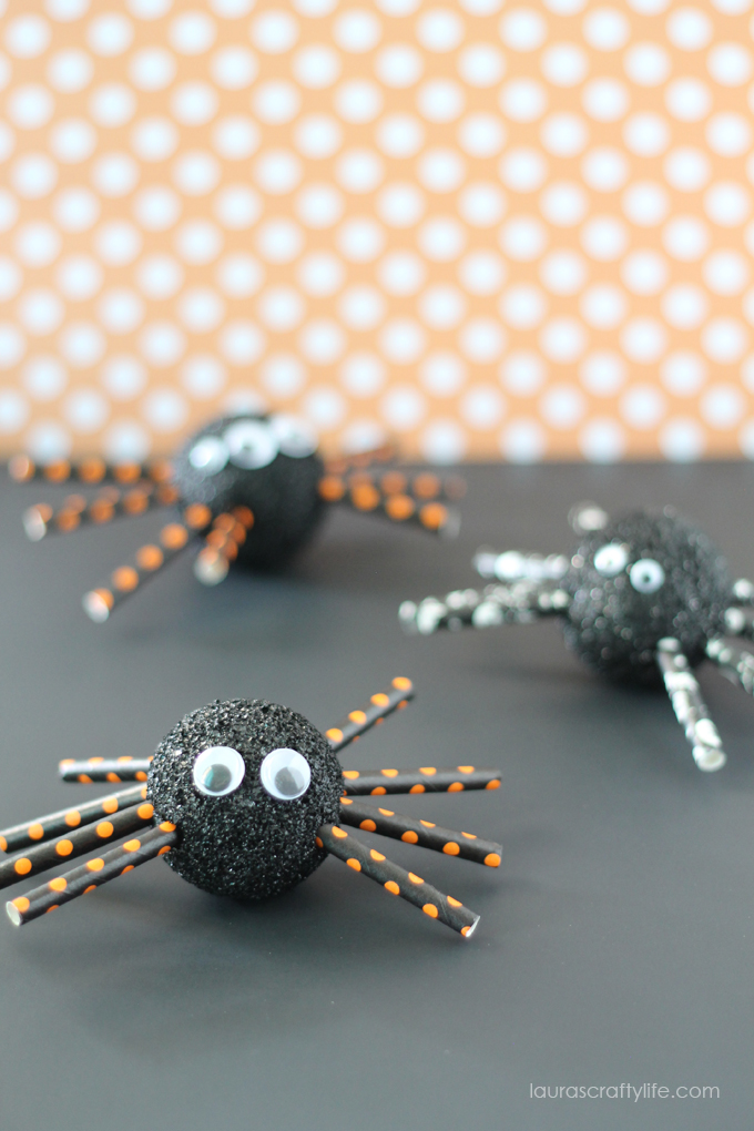Foam-Halloween-Spiders-Lauras-Crafty-Life