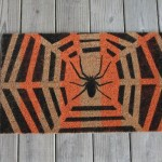 Halloween: DIY Spider Web Doormat