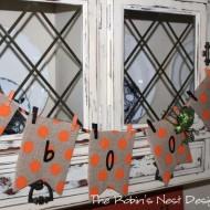Halloween: Easy Last Minute Banner