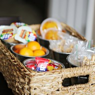 Kid Friendly: Back to School Lunchbox Station