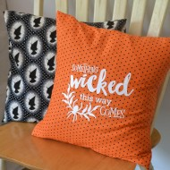 Halloween: Wicked Envelope Pillow