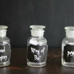 Halloween: Potion Labels Printable