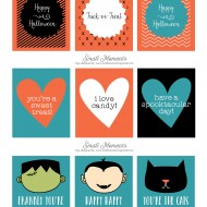 Halloween: Free Printable Tags