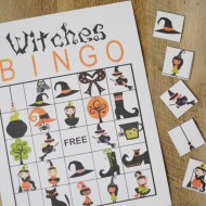 Halloween: Witches Bingo Printable