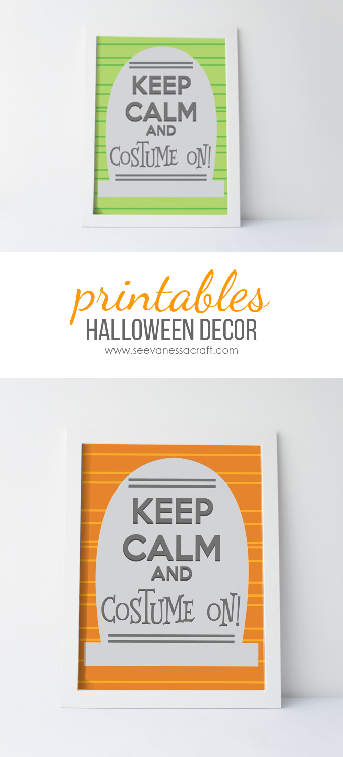 Halloween Keep Calm Printables