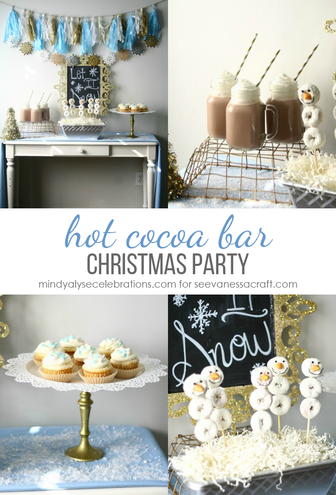 Hot Cocoa Bar Winter Party