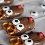 Christmas: Nutter Butter Reindeer Cookies