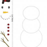 Christmas: Easy Snowman Dice Game