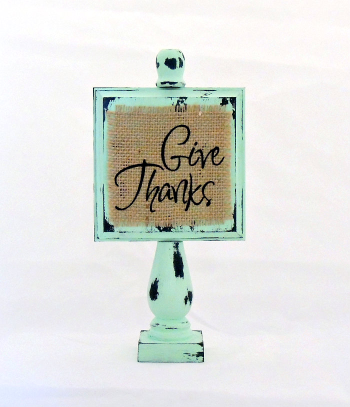 Thanksgiving Give Thanks Wood Decor See Vanessa Craft