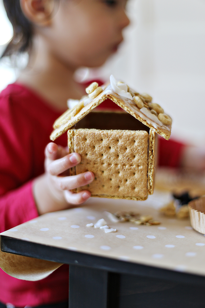 Healthier Gingerbread House Decorating 13 copy