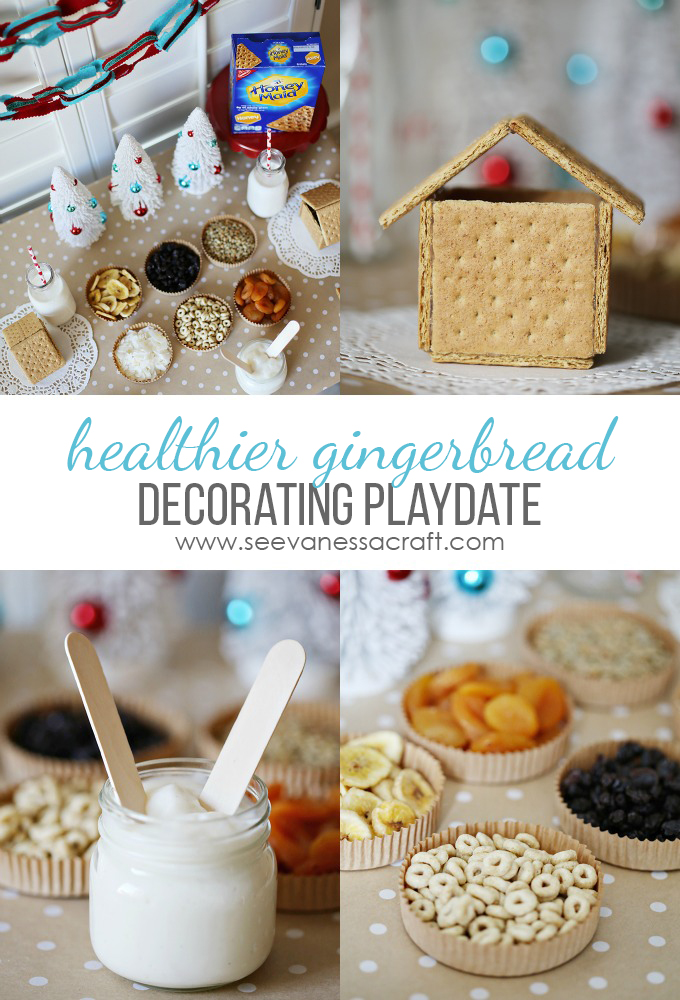 Healthier Gingerbread House Decorating copy
