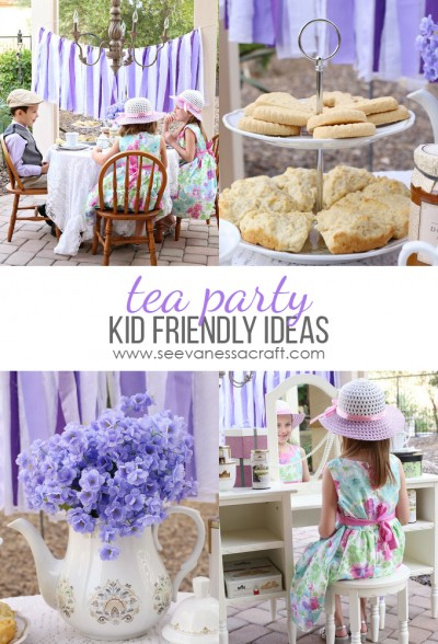 Kid Friendly Tea Party copy