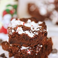 Recipe: Candy Cane Peppermint Brownies