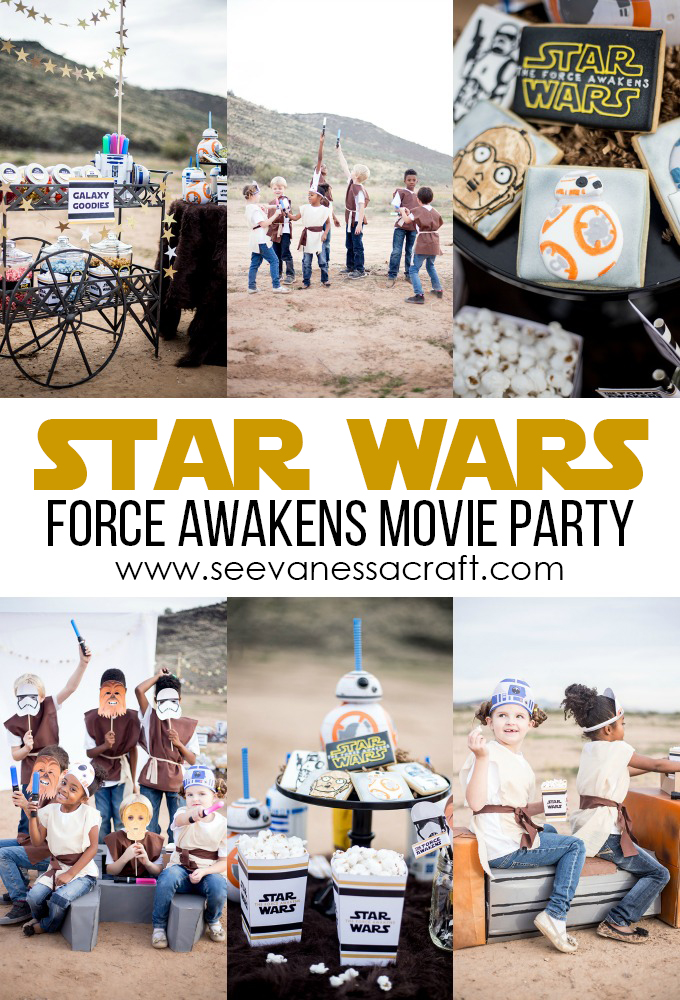 Star Wars Force Awakens Movie Night Party copy