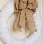 Craft: Winter Fur Wreath