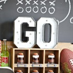 Party: Game Day Football Baked Potato Bar