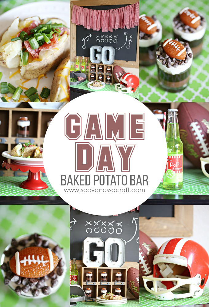 Game Day Baked Potato Bar